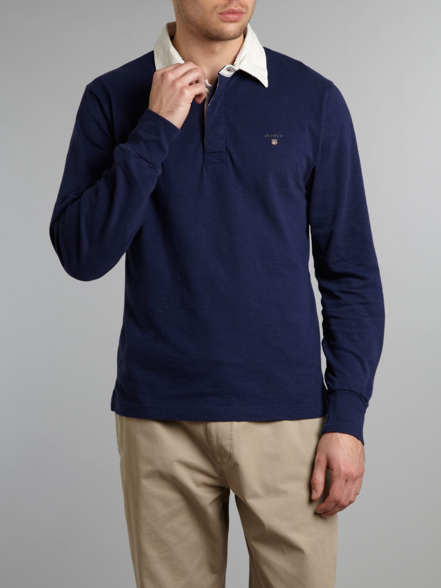 Regular fit classic rugby shirt