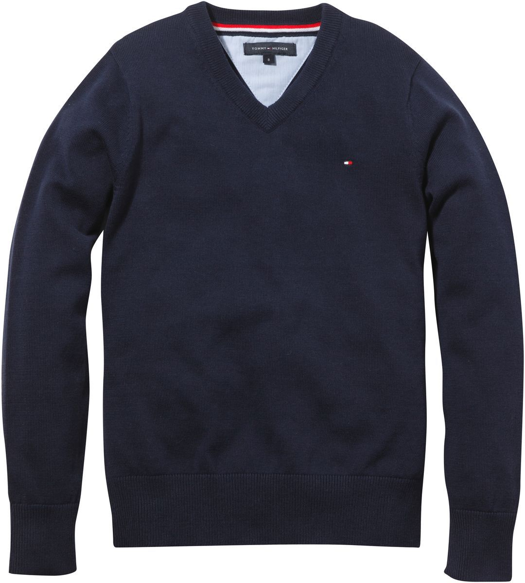 Boy`s v-neck jumper
