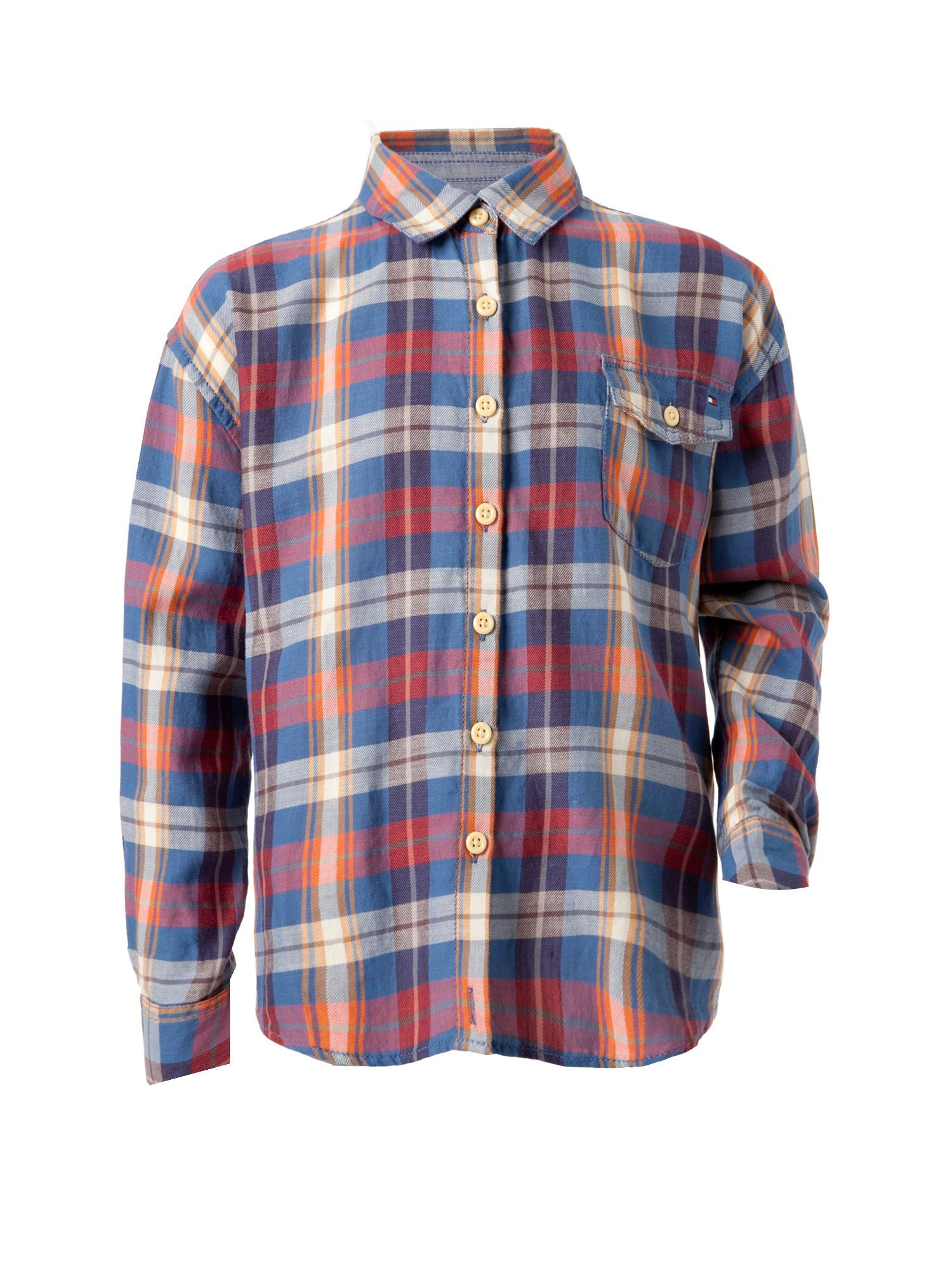 Girl`s check shirt