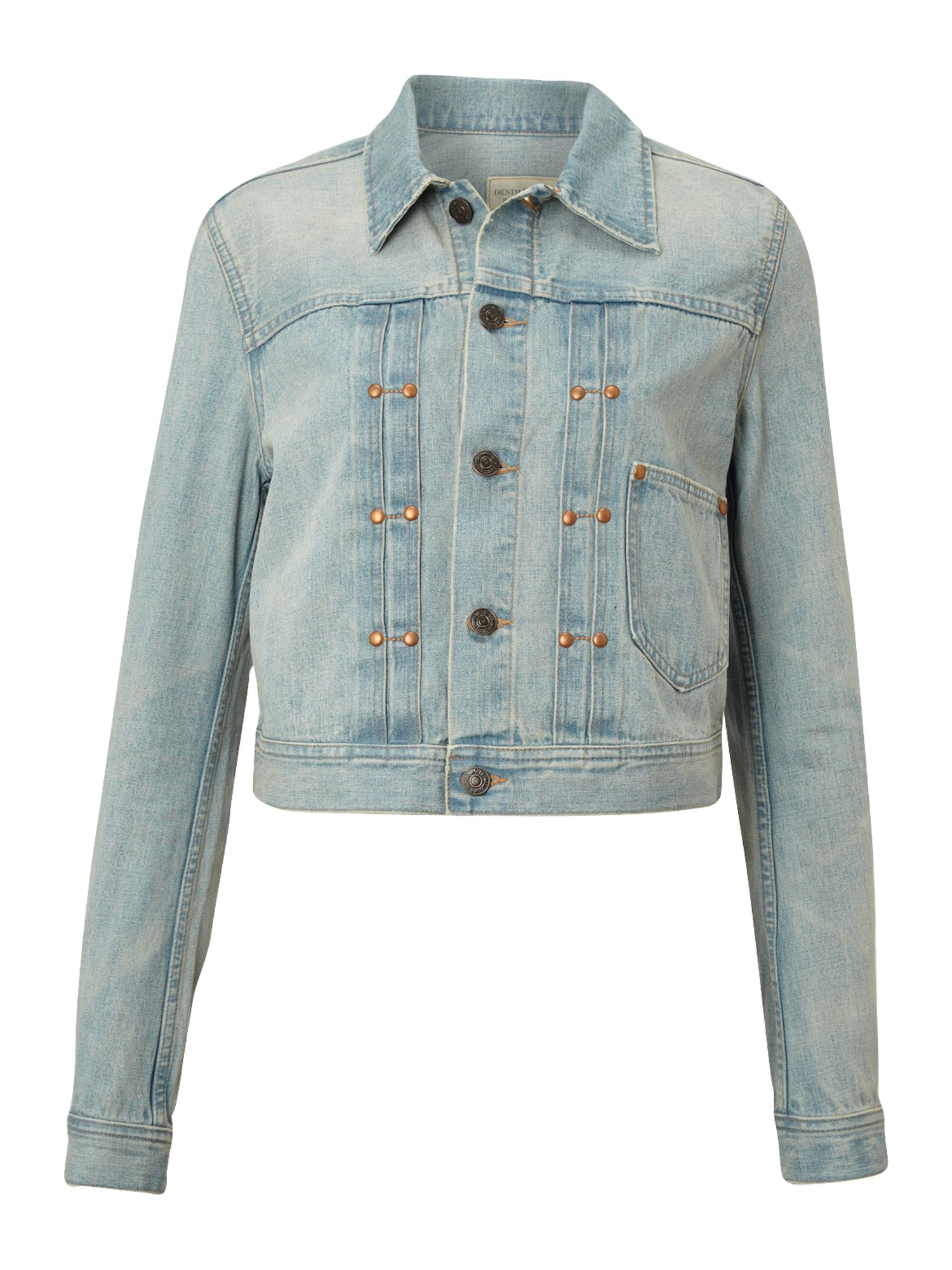 Retro trucker denim jacket