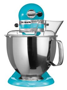 KitchenAid Blue Artisan Stand Mixer 5KSM150PSBCL
