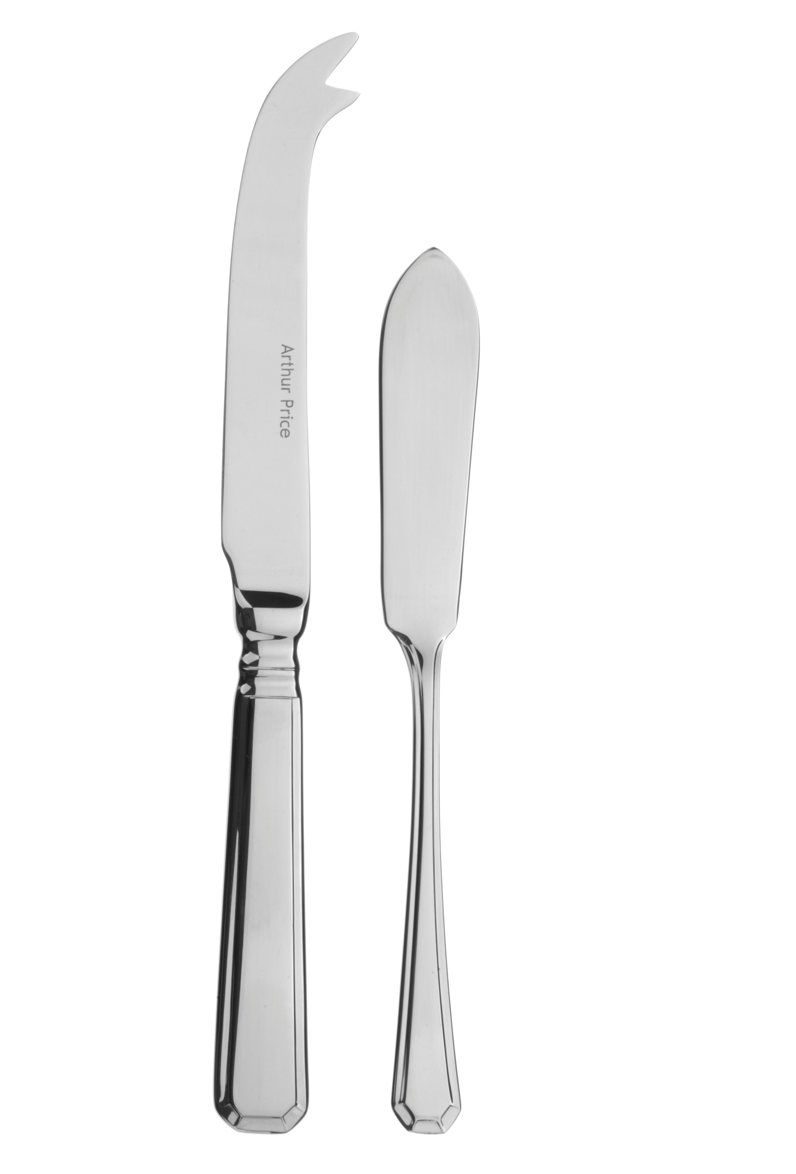 Cheese knife & butter knife set