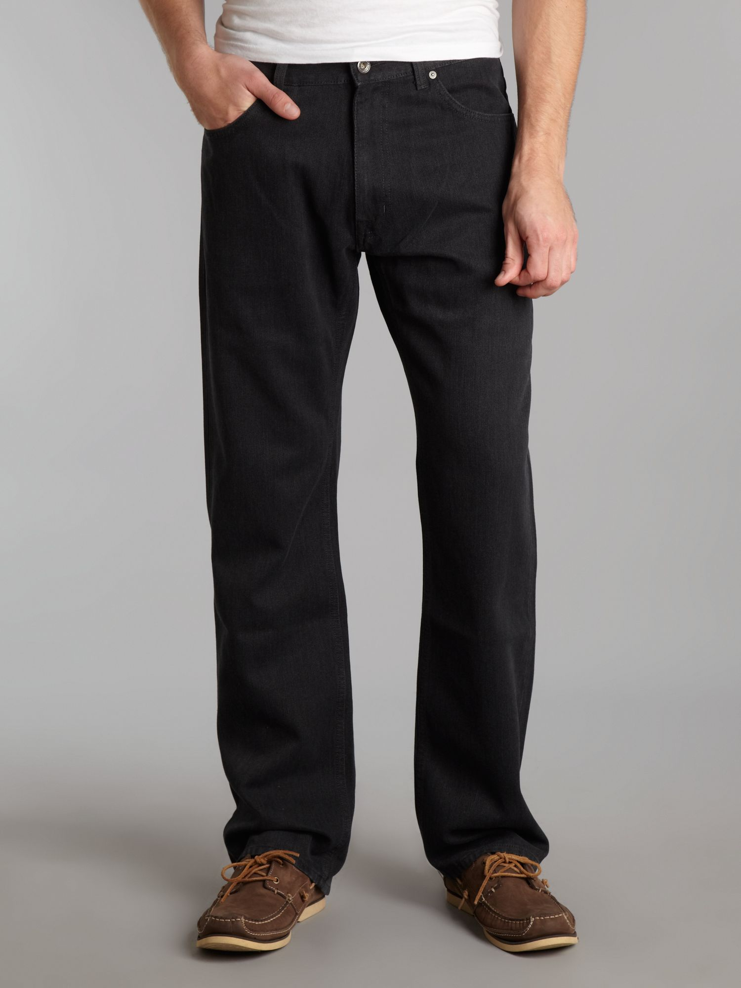 Regular fit melange whip corduroy trousers