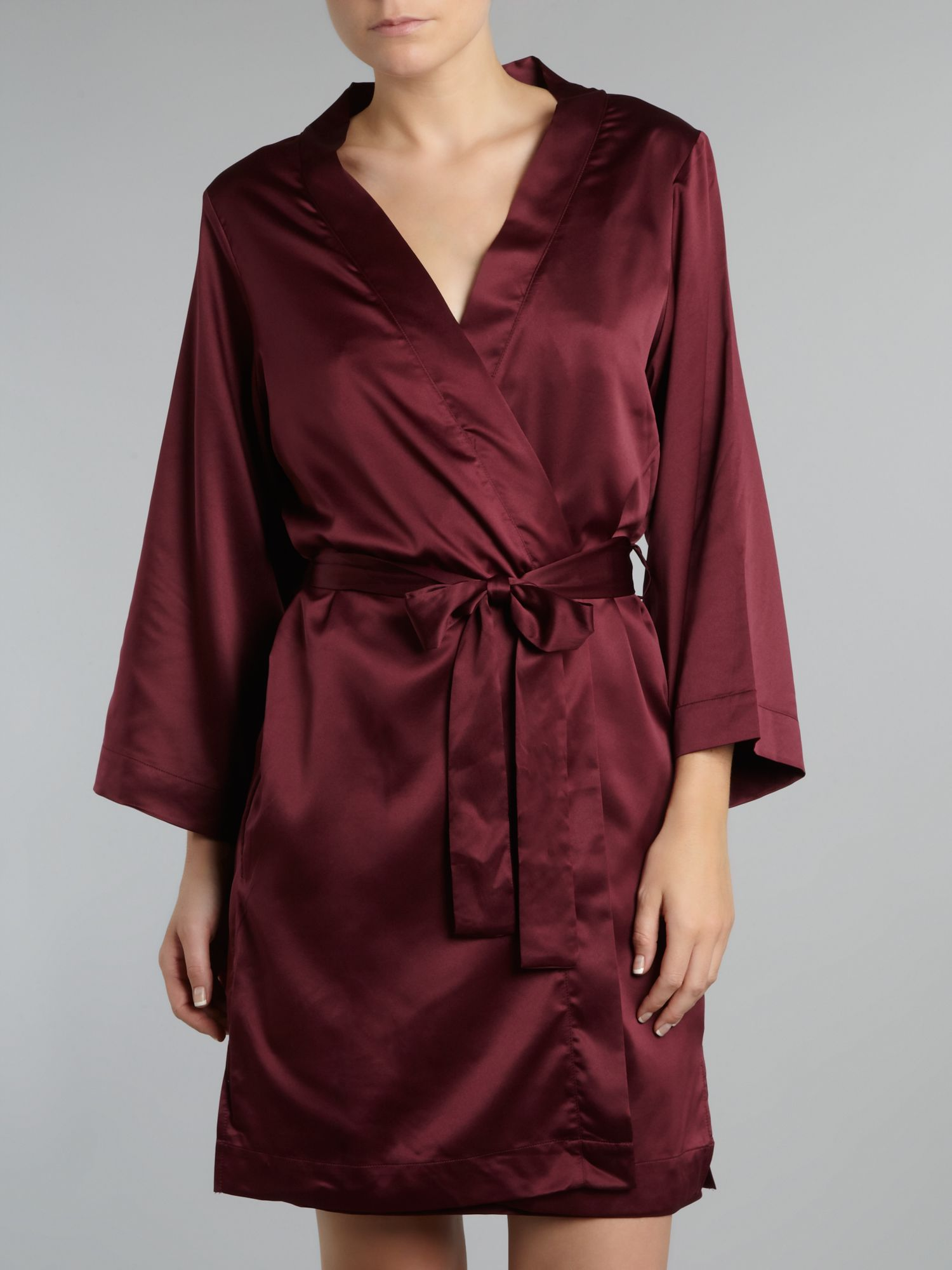 Georgina 3/4 satin wrap