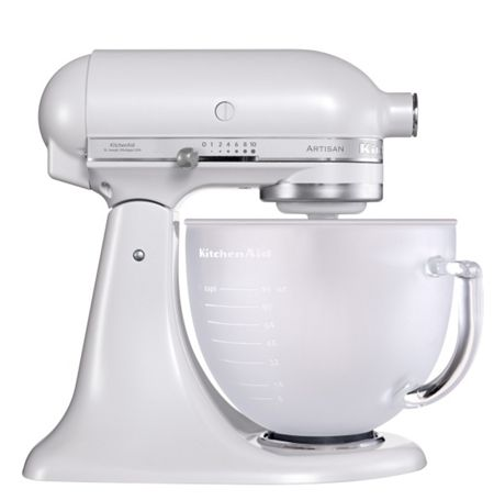 KitchenAid Frosted Pearl Artisan stand mixer 5KSM156BFP