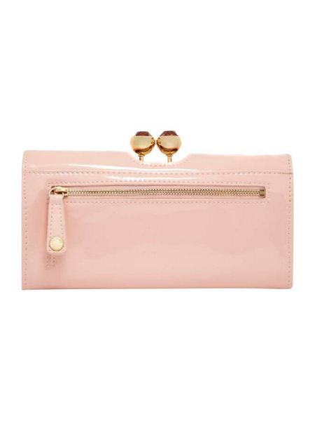 Ted Baker Kassady crystal large flapover purse