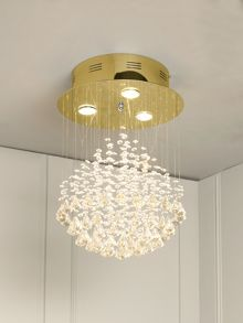 Ritz ceiling pendant gold