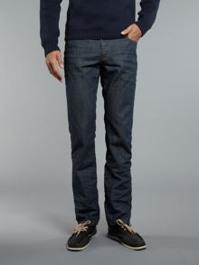 Tapered 024 rinse wash jeans