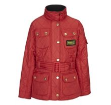 Girl`s polar quilted International Jacket