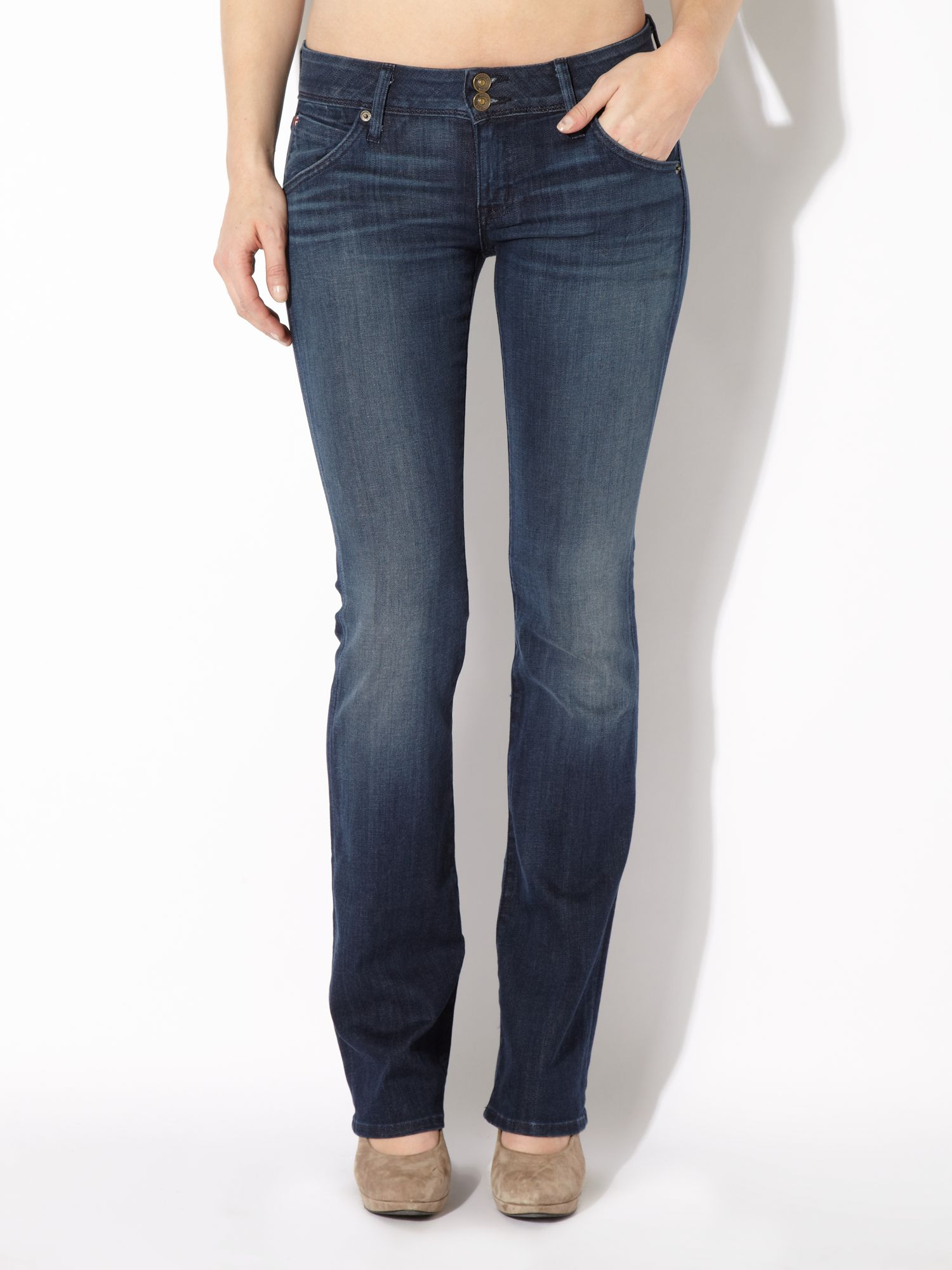 Beth baby boot jeans in Siouxie