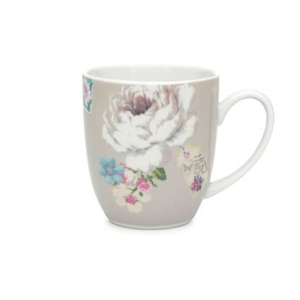 With Love mug beige