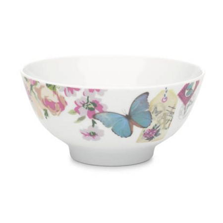 Accessorize With Love butterfly bowl blue