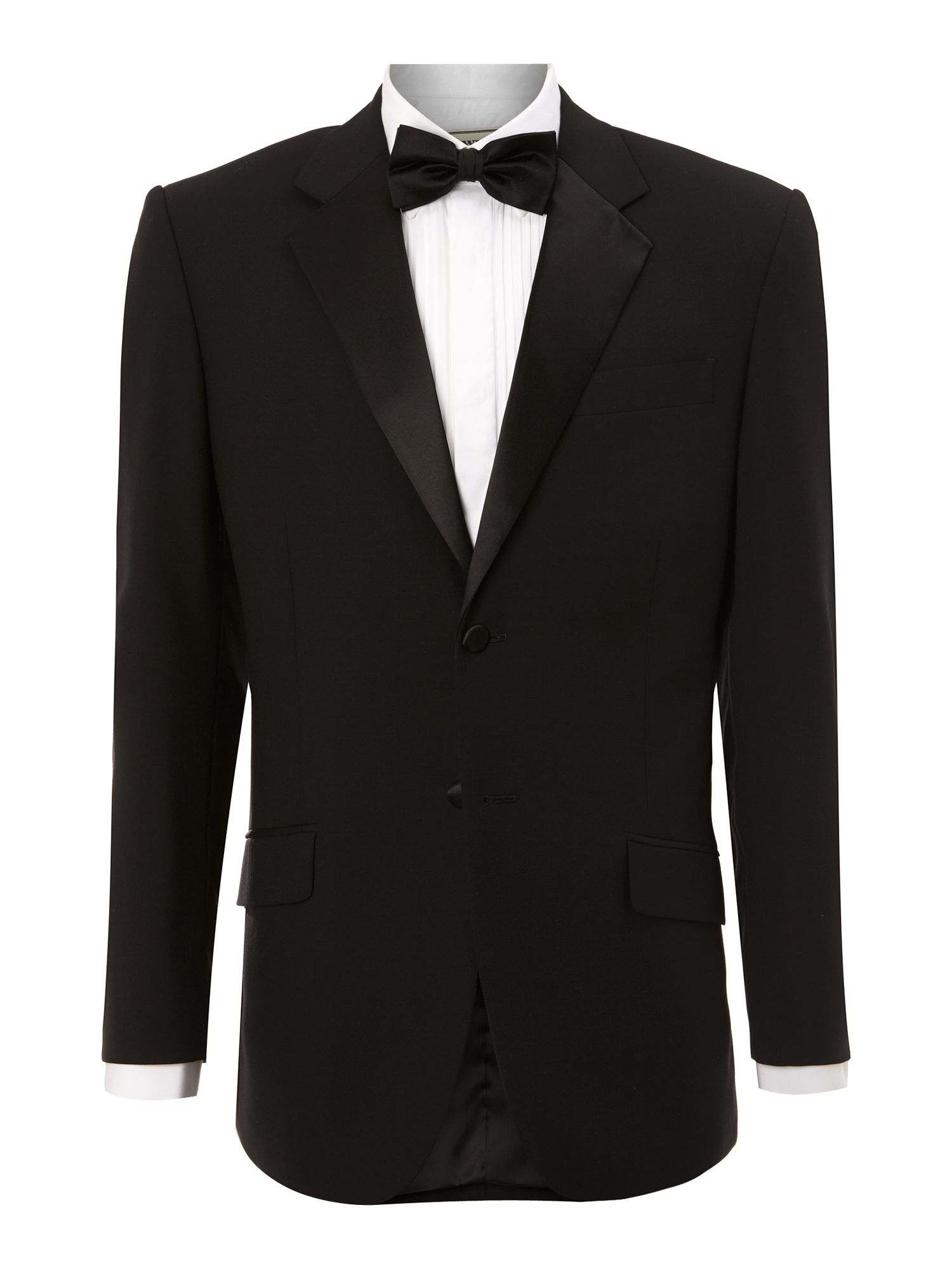 Powell tuxedo jacket with satin collar