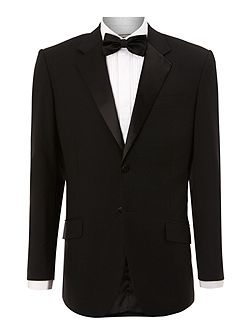 Powell Satin-Collar Tuxedo Jacket