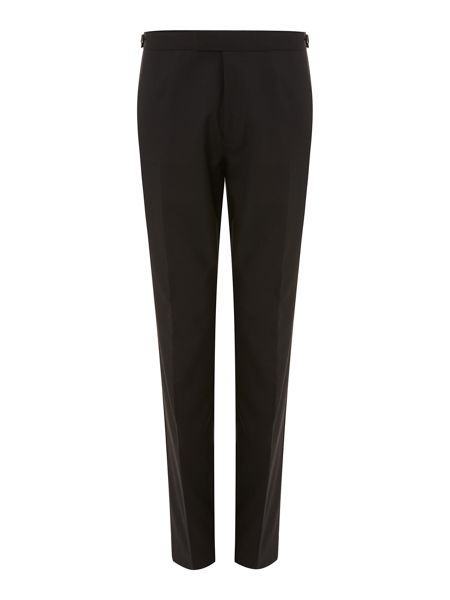 Howick Tailored Powell Satin-Trim Tuxedo Trousers