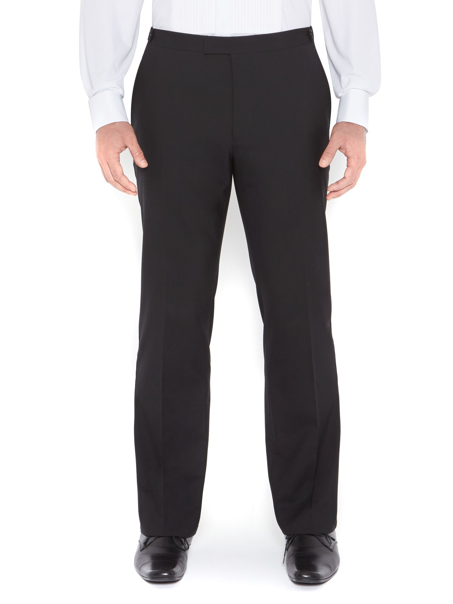 Powell tuxedo trouser with satin tipping