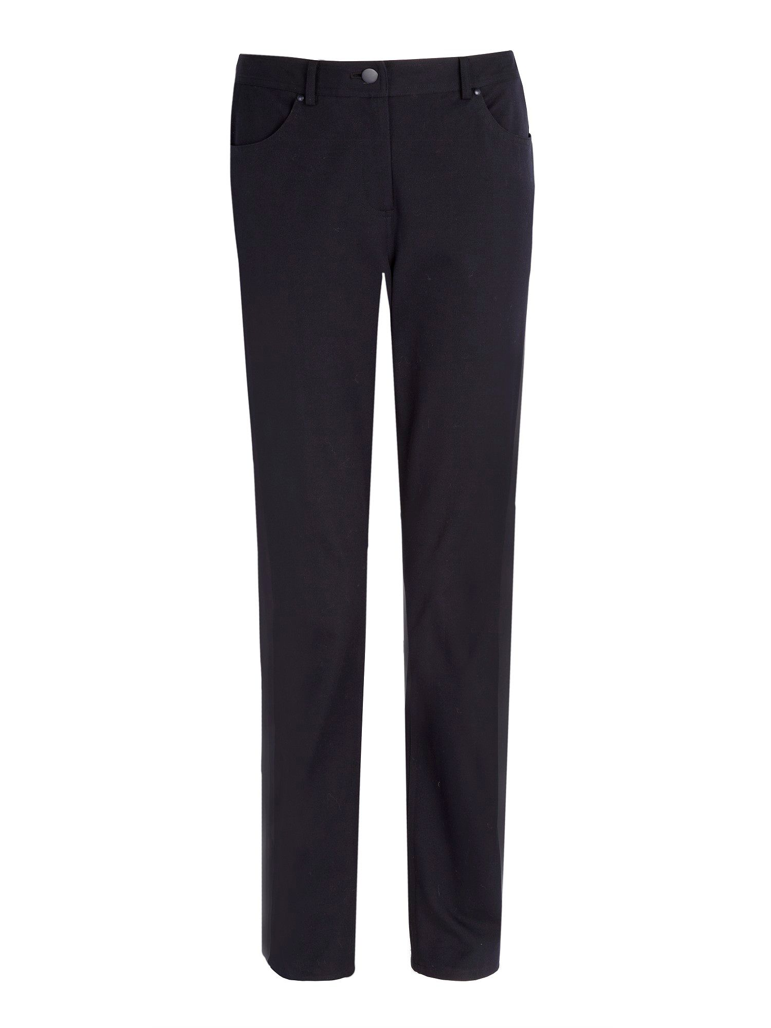 Navy stretch trouser