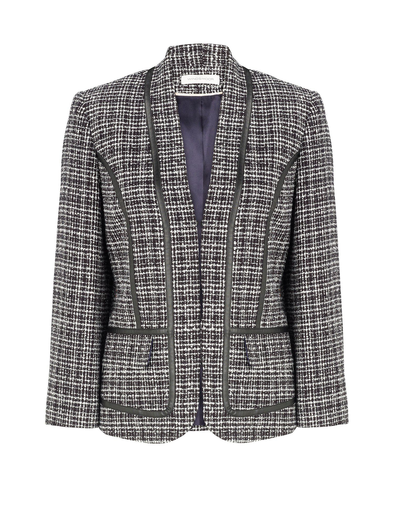 Tweed textured jacket