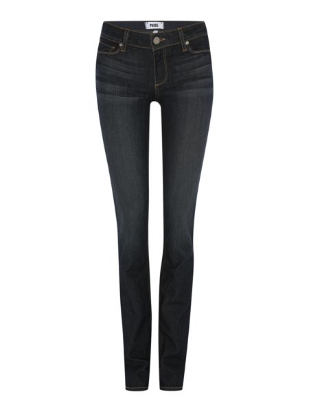 Paige Skyline straight leg jeans in Stream
