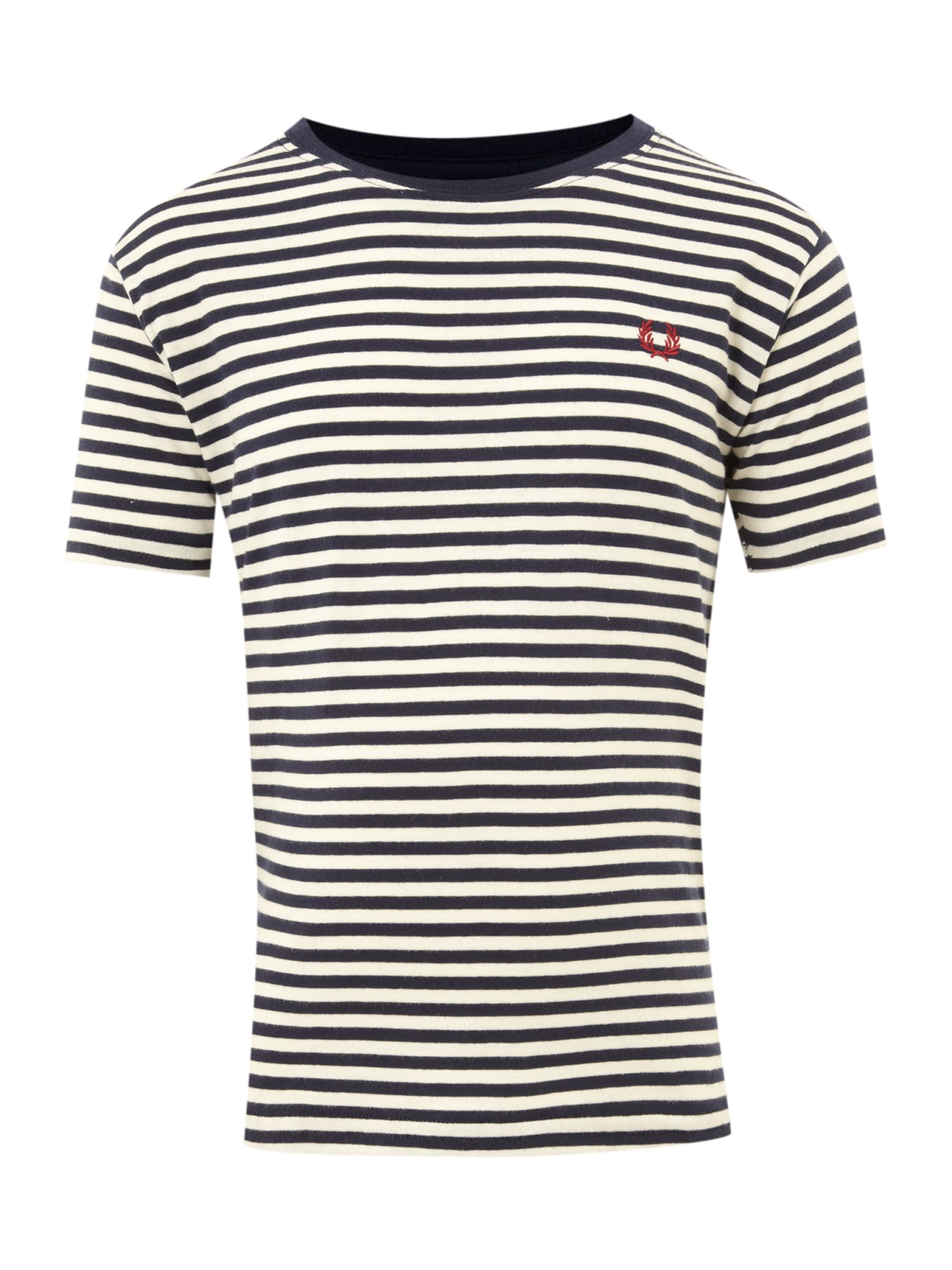 Fred Perry Short-sleeved stripe t-shirt, Navy product image
