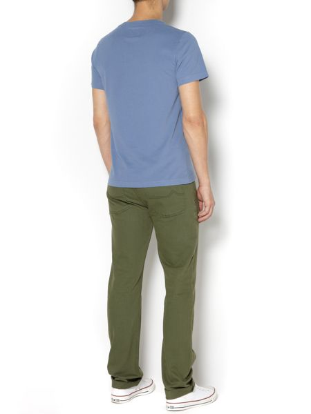 Criminal Cove coloured slim fit denim