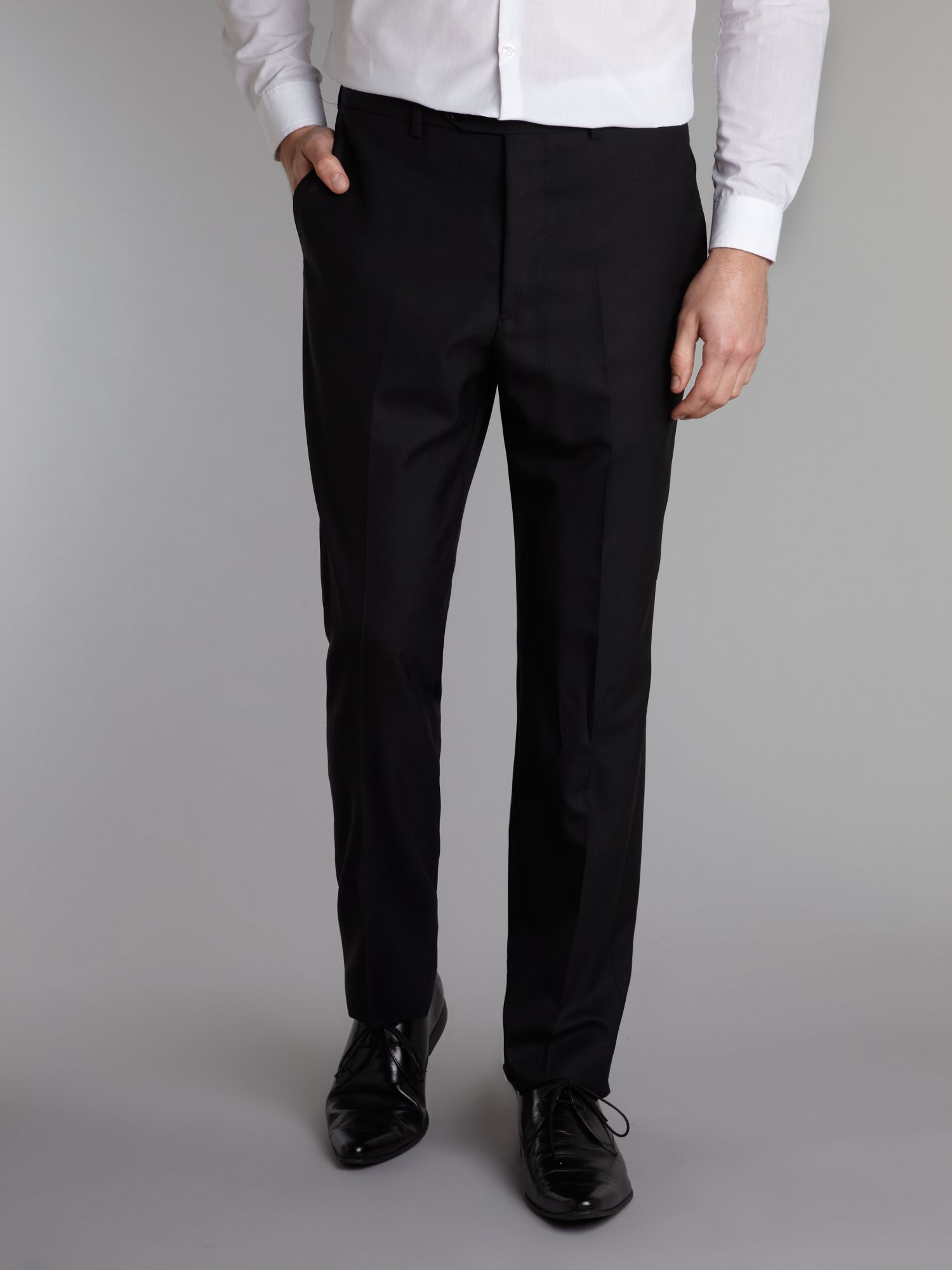 Single breasted luxury wool suit