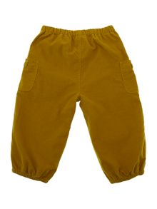 Baby girl trousers in corduroy