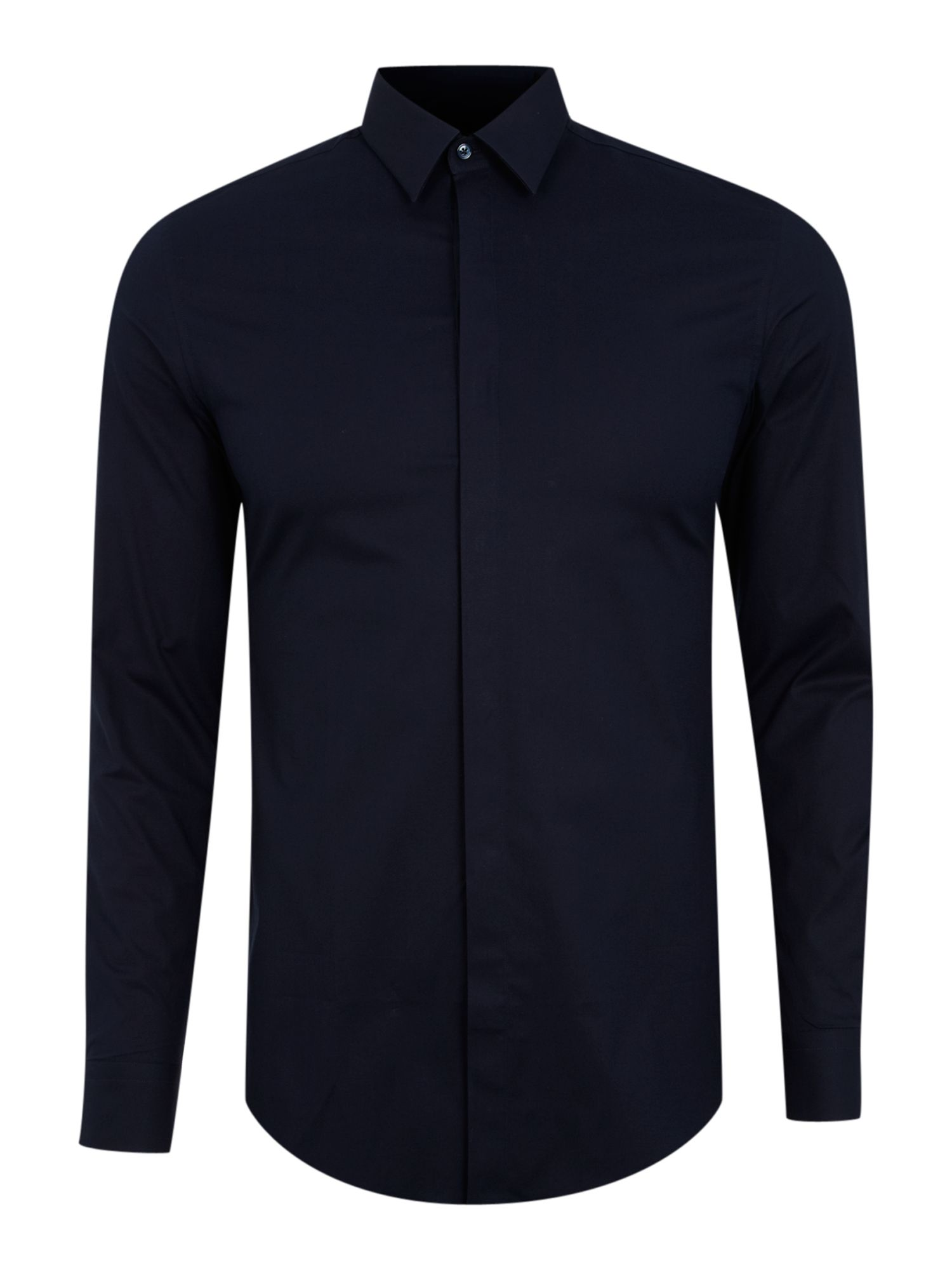 Standard stretch Shirt with Concealed Placket