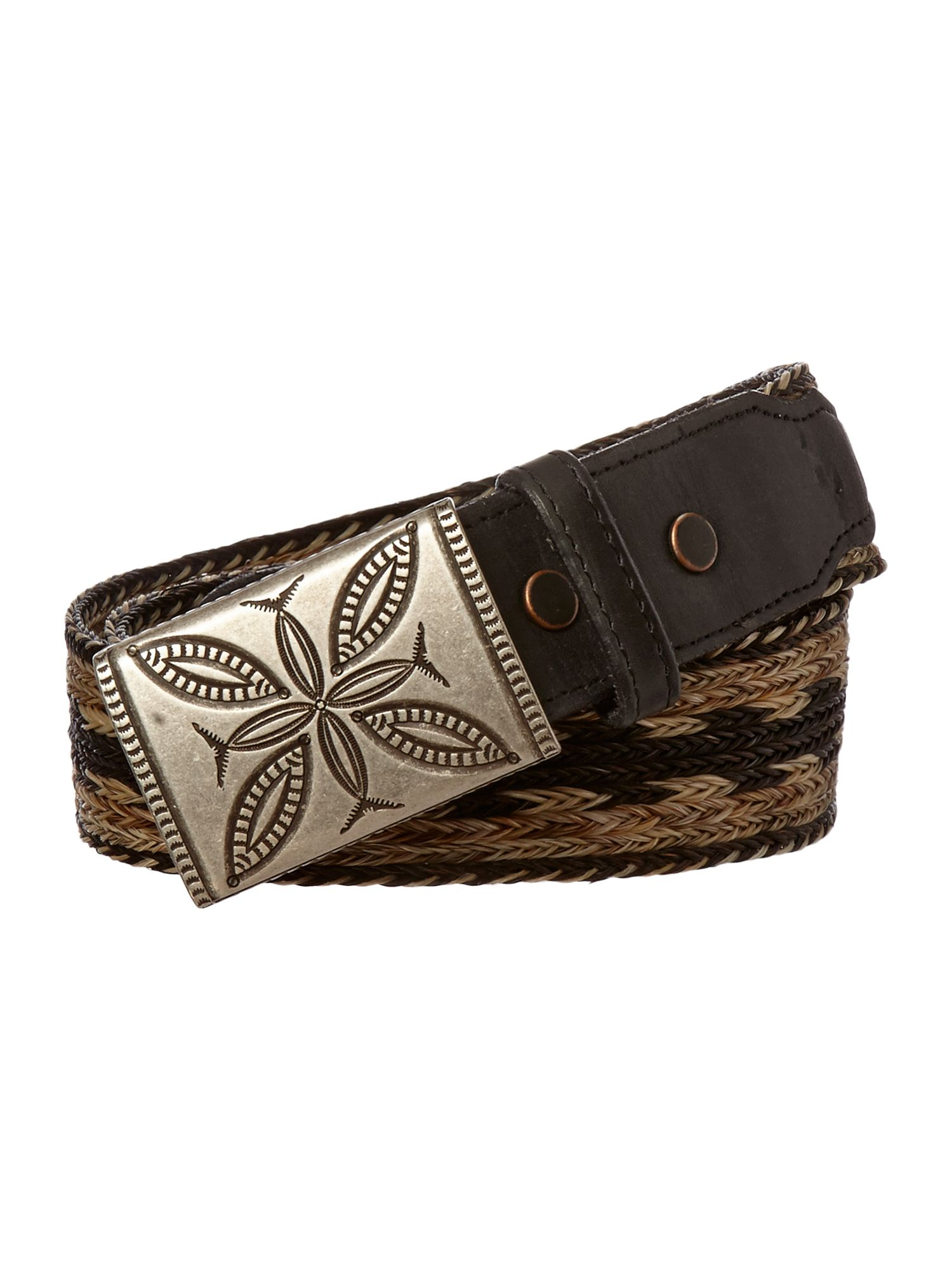 Horse braided belt