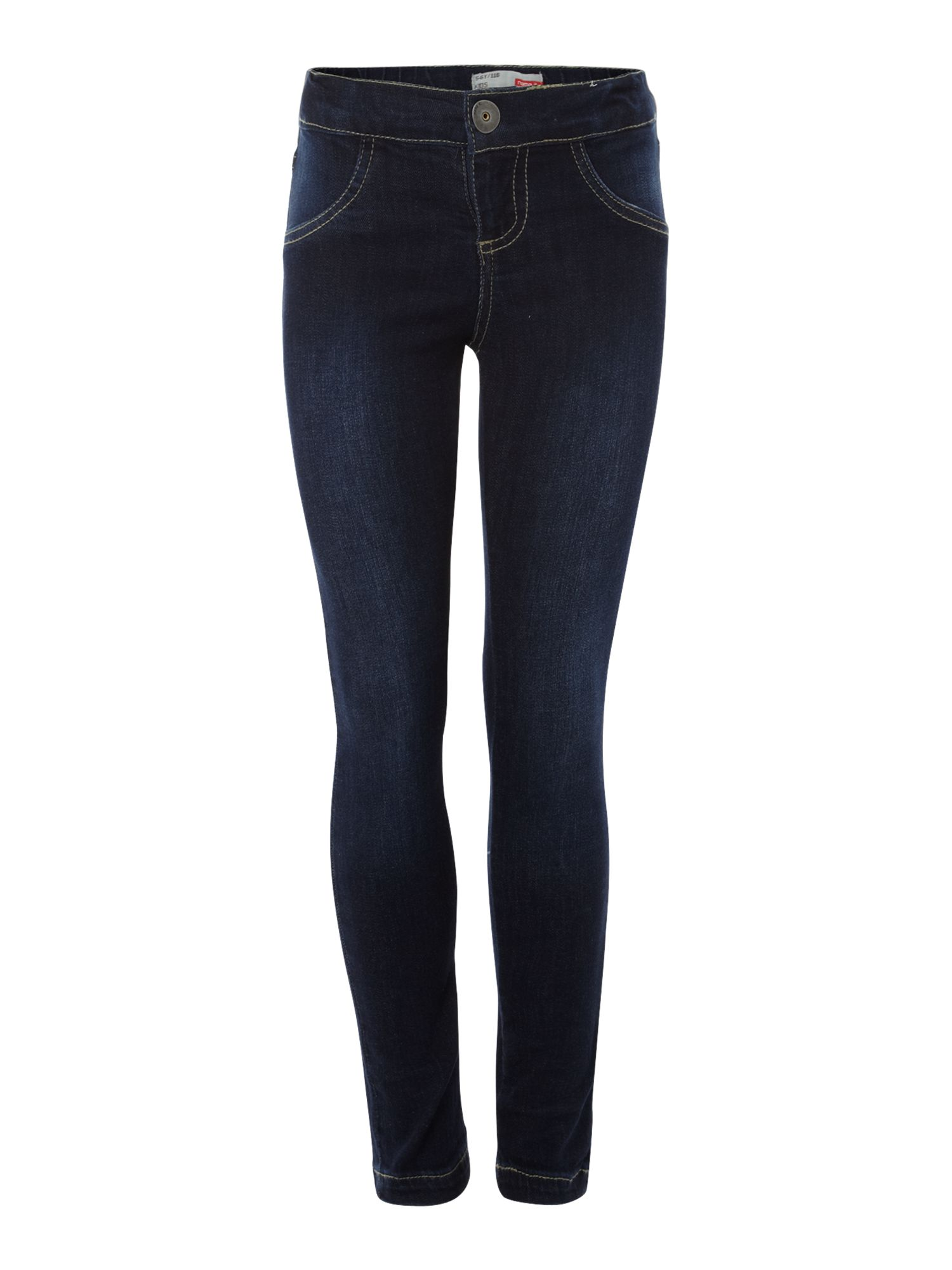 Girl`s classic denim leggings