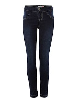 Girls Classic Denim Leggings