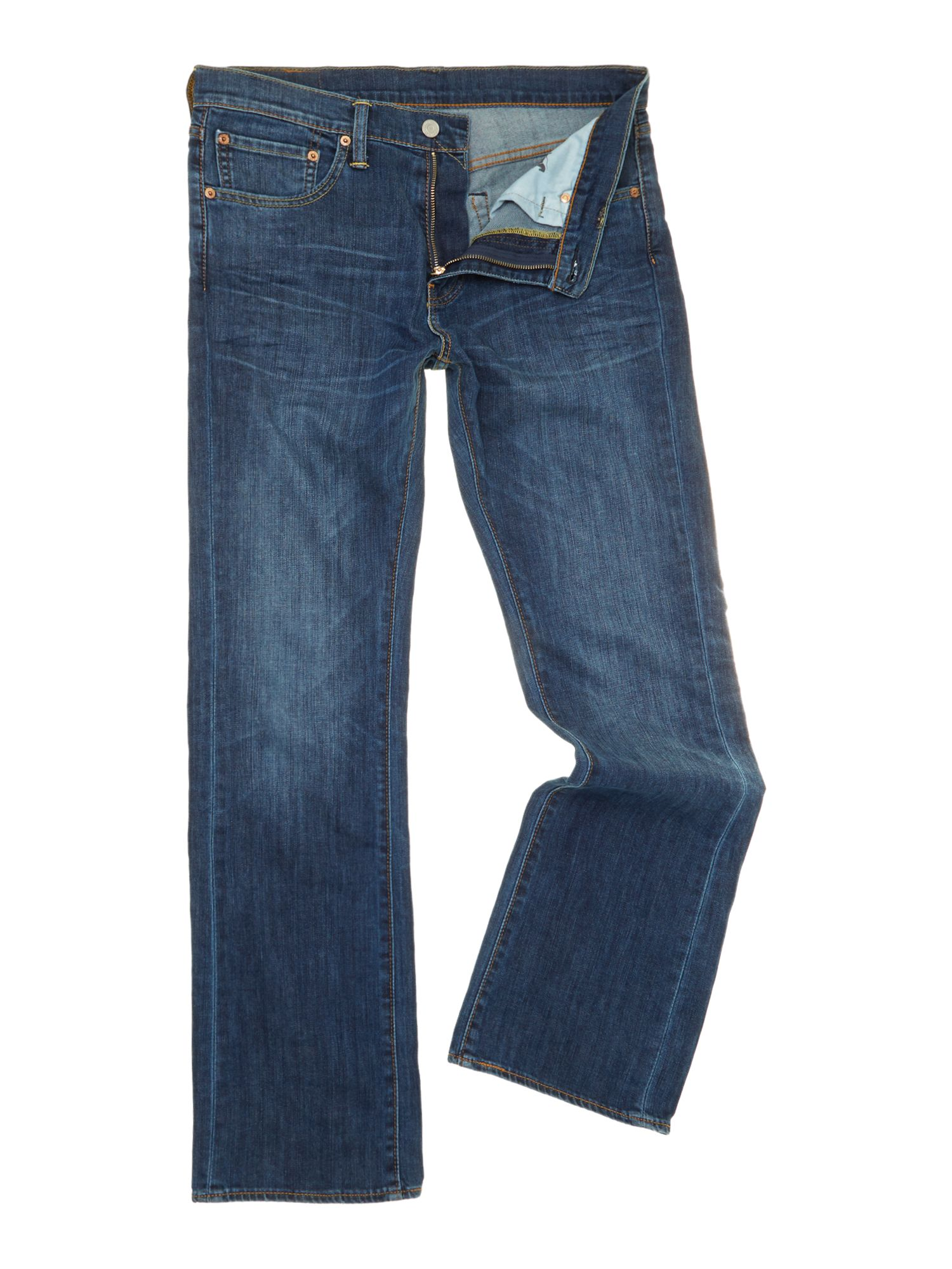 527 Bootcut Mostly Mid Blue jeans