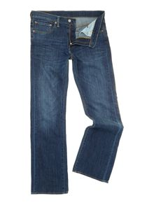 Levi's 527 Bootcut Mostly Mid Blue Jeans