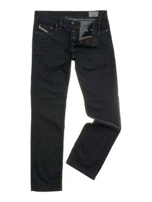 Larkee 8Z8 dark wash straight jeans