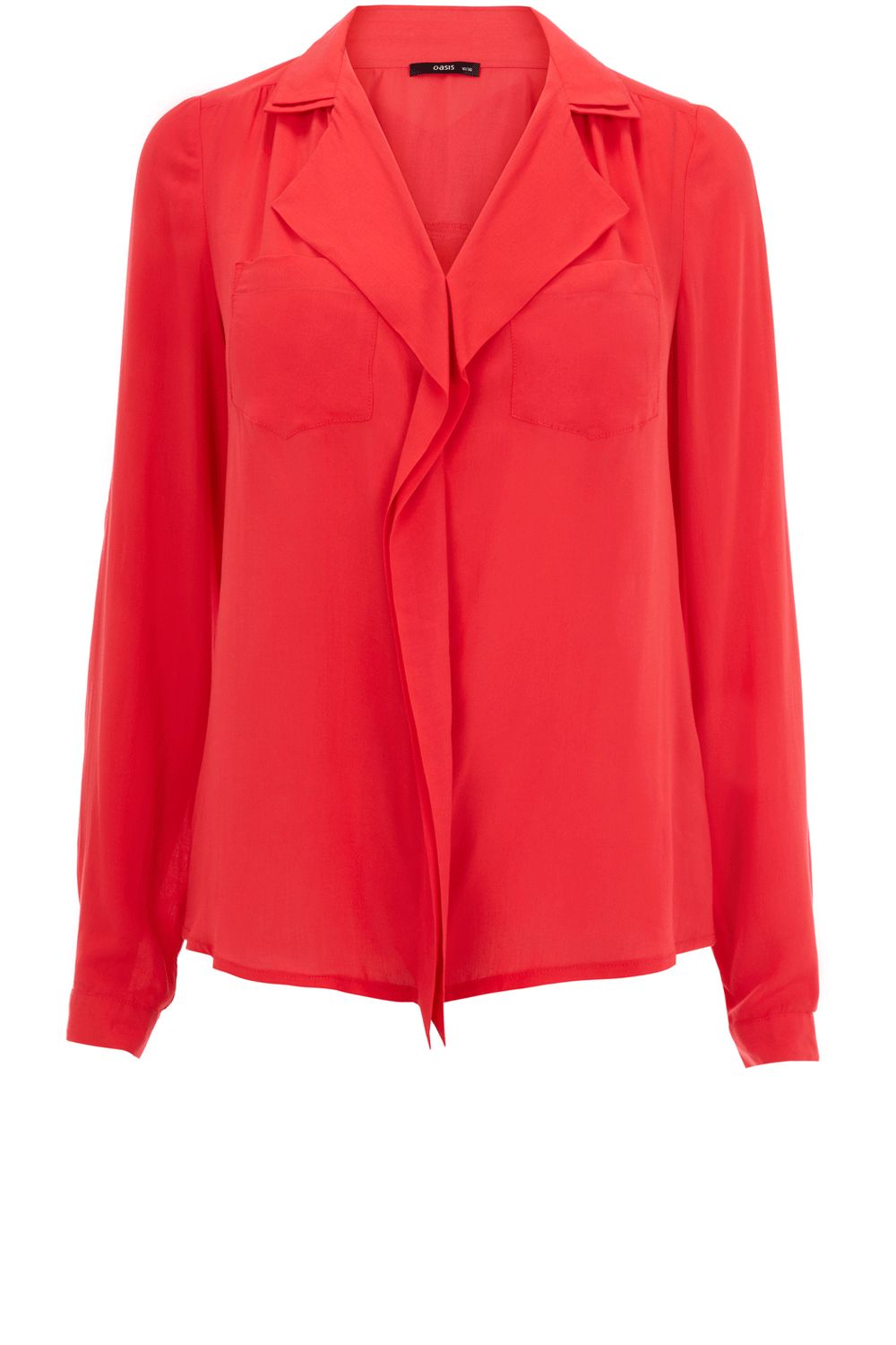 Oasis Womens Oasis Viscose blouse, Coral 171630243 product image