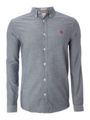 Original Penguin Long sleeve oxford shirt