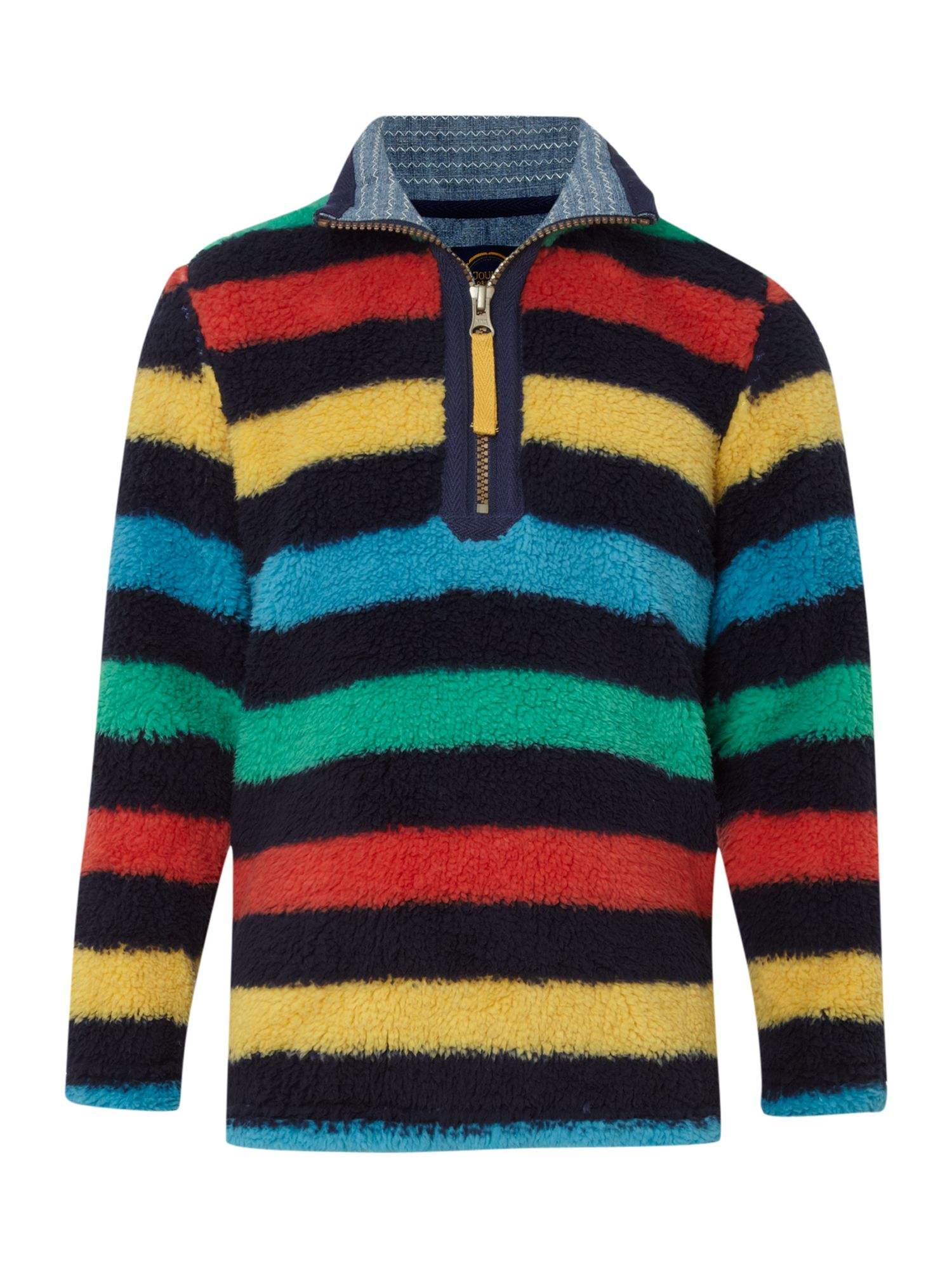 Boys long-sleeved stripe fleece
