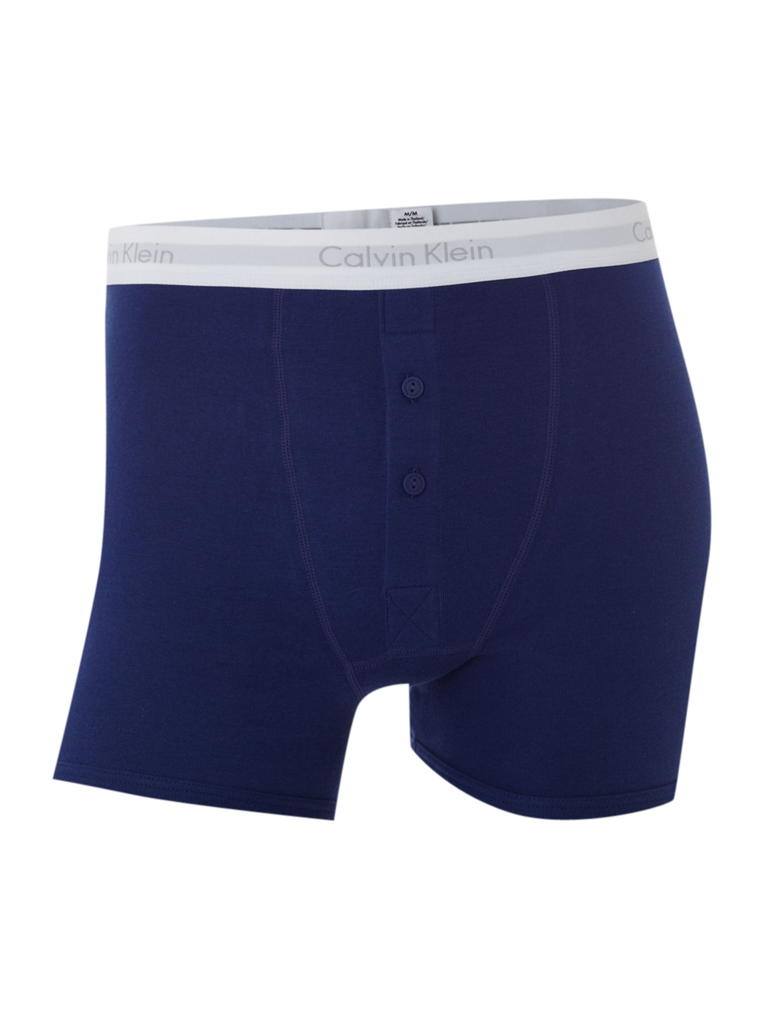 Heritage cotton button fly boxer brief