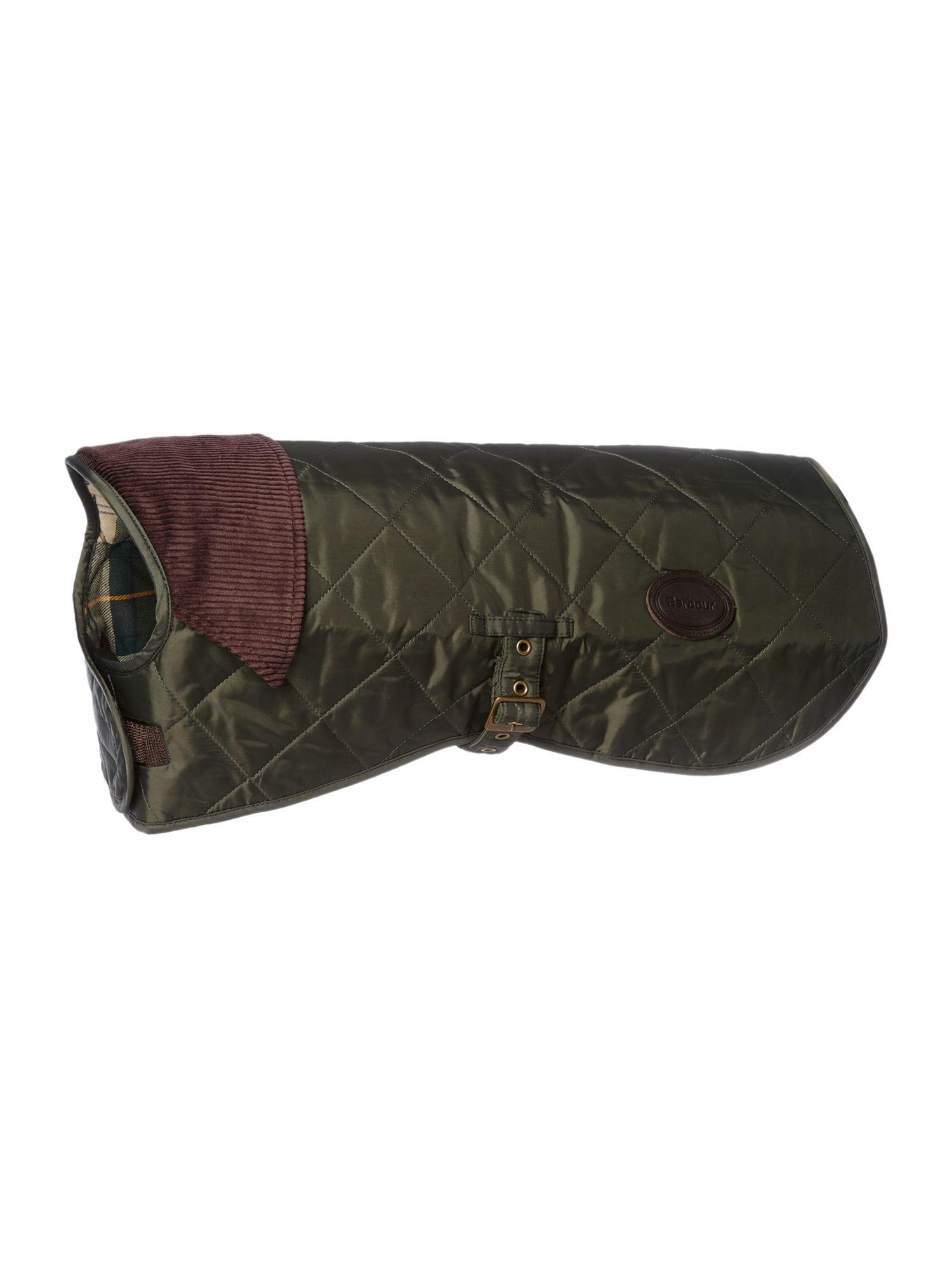 Barbour Quilted dog coat, Olive