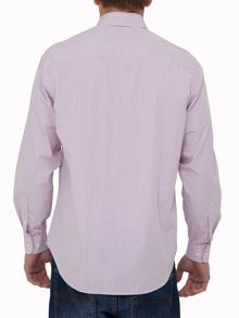 Raging Bull Striped Long Sleeve Shirt