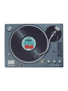 Record player chopping board