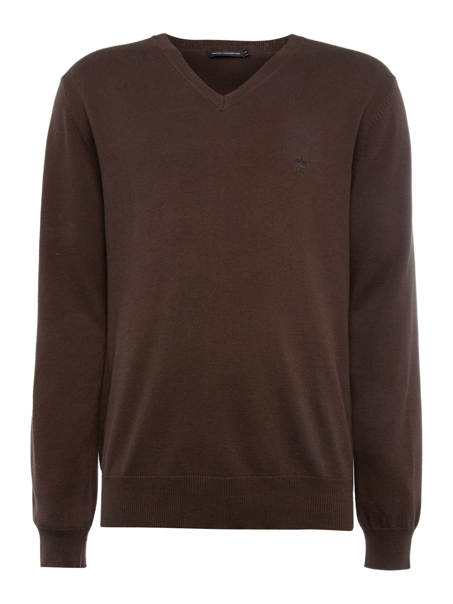 Alderly long sleeve v-neck jumper