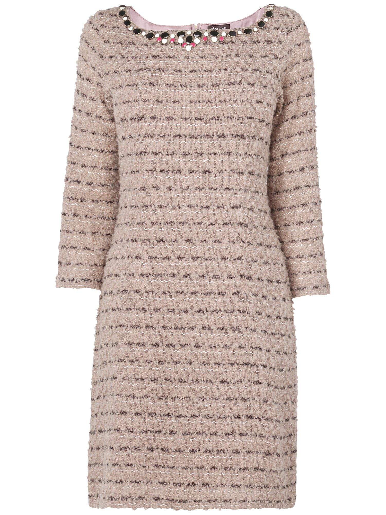 Marilyn tweed knitted dress