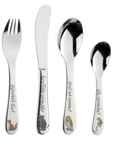Arthur Price Gruffalo stainless steel 4 piece cutlery set