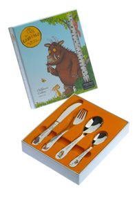 Gruffalo stainless steel 4 piece cutlery set