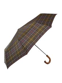 Tartan telescopic umbrella