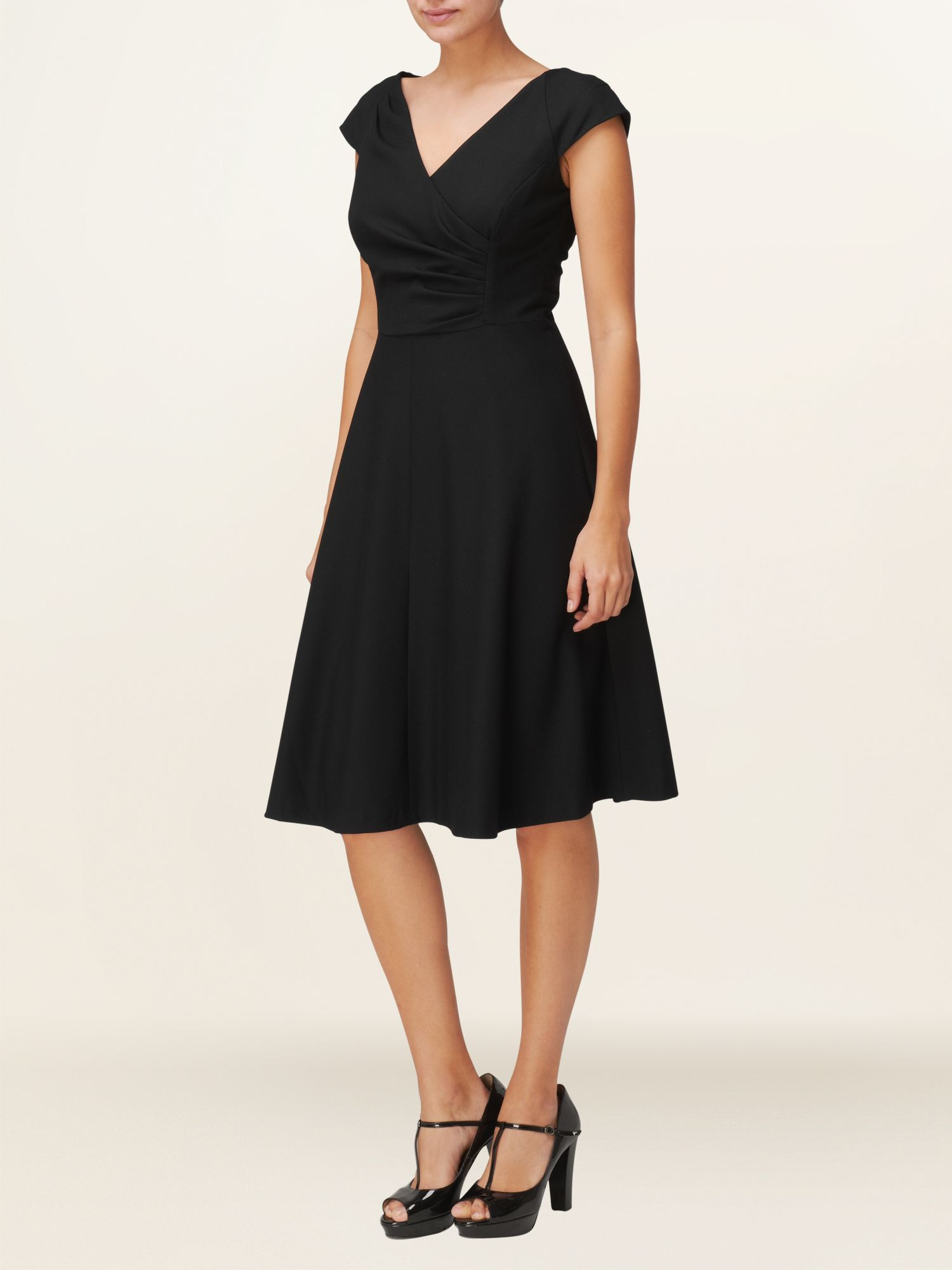 Evie Wrap Front Dress