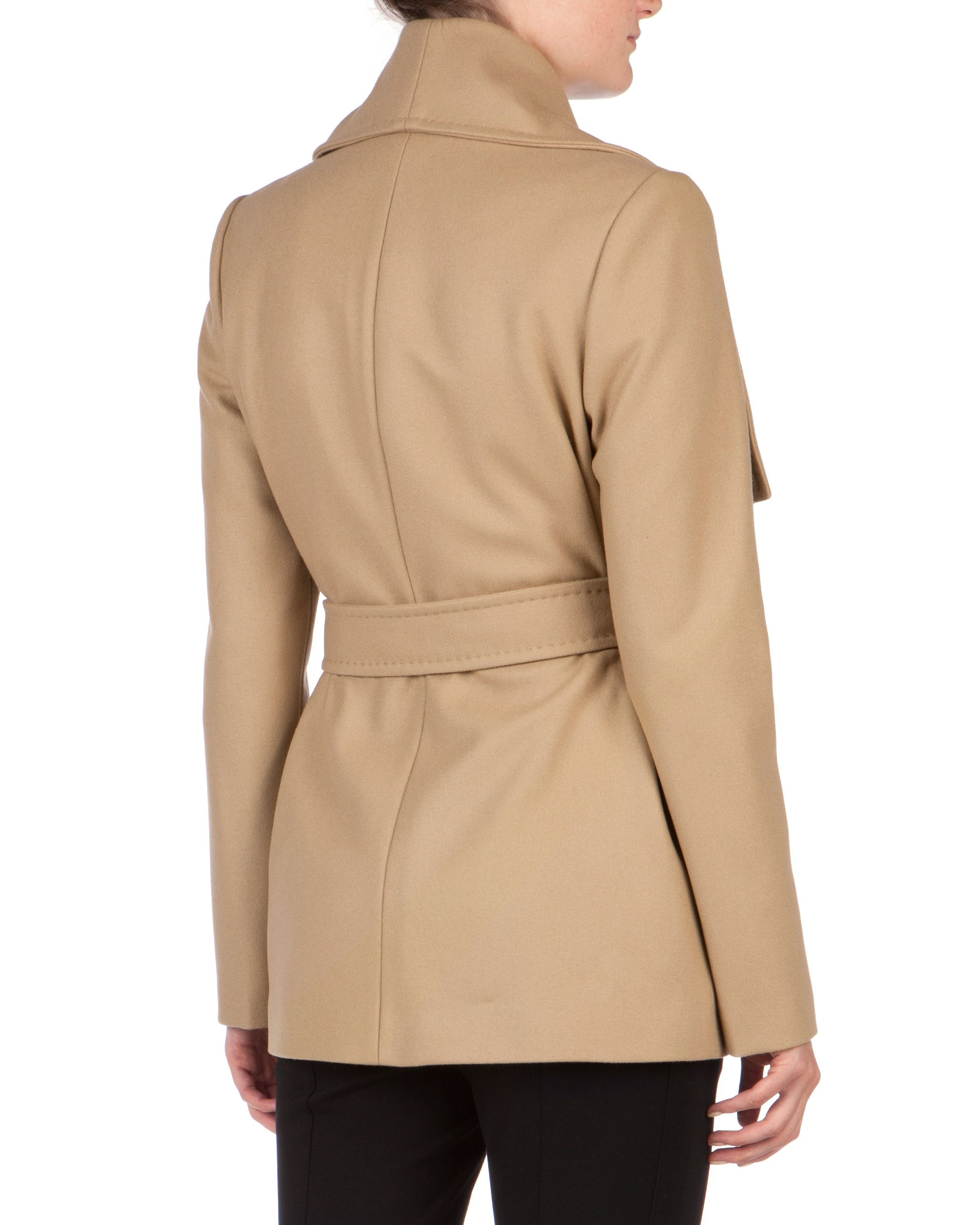 Matild short wrap coat
