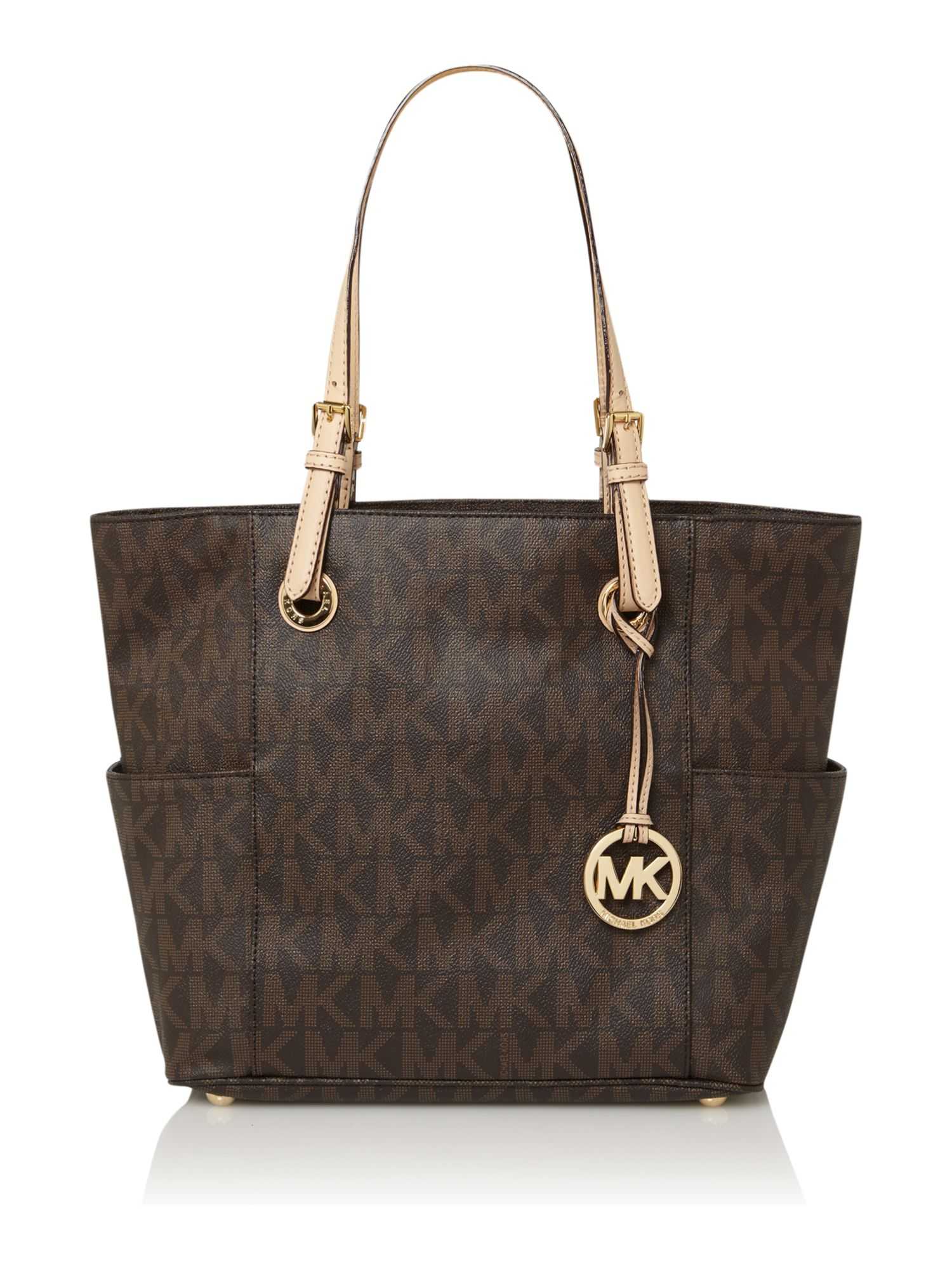 Jet set item monogram tote
