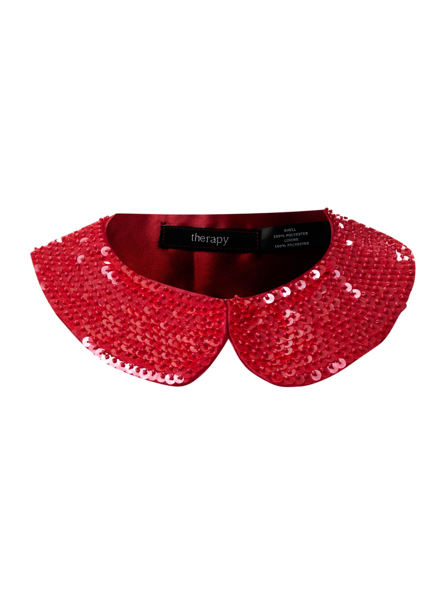 Sequinned collar